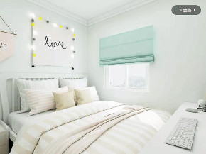 简约 欧式 卧室图片来自优家馆装饰_小余在130平方-北欧风格尽显自然优雅的分享