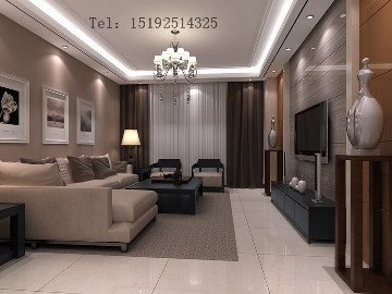 绍兴路66号158平四居室装修设计