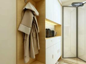 简约 欧式 玄关图片来自优家馆装饰_小余在130平方-北欧风格尽显自然优雅的分享