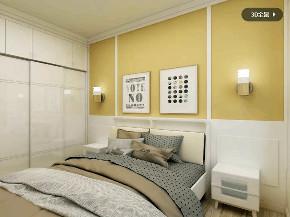 简约 欧式 卧室图片来自优家馆装饰_小余在重庆优家馆装饰之北欧-130平的分享