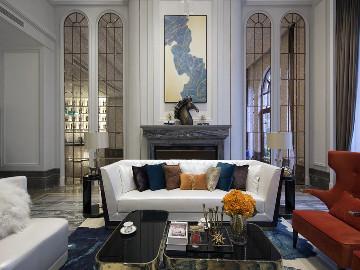 轻奢雅致美式风格别墅设计