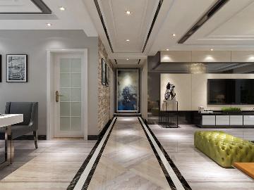 亿龙金河湾三室100平现代风格