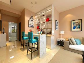 餐厅图片来自阳光放扉er在力天装饰 秋瑞家园105㎡ 现代的分享