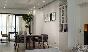 餐厅图片来自家装大管家在107平现代简约风 平淡中不失韵味的分享