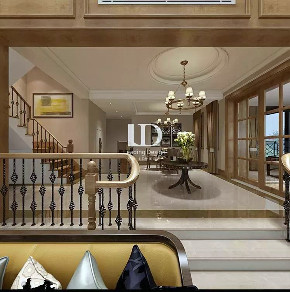 兄弟装饰 餐厅图片来自兄弟装饰-蒋林明在重庆法蓝西莊邸别墅装修设计案例的分享