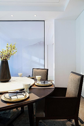 餐厅图片来自重庆优家馆装饰在渝北优家馆装饰  中式禅意的分享