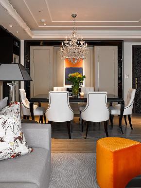 港式 三居 大户型 复式 跃层 80后 小资 餐厅图片来自高度国际姚吉智在146平米港式家居不轻浮不造作的分享