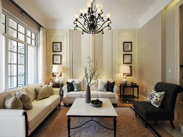 联排别墅优雅美式风格