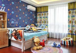 简约 法式风格 三居 儿童房图片来自别墅设计师杨洋在古典华贵法式--橡树湾装修设计的分享