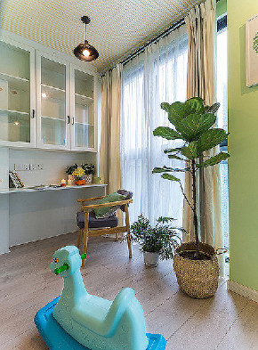 儿童房图片来自家装大管家在温馨舒适 96平现代简约雅致3居的分享