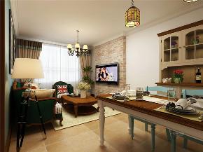 收纳 80后 二居 餐厅图片来自阳光力天装饰在【力天装饰】龙湖公寓 80㎡ 美式的分享