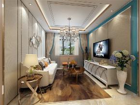 二居 简约 收纳 80后 小资 客厅图片来自阳光力天装饰在力天装饰 宝利海棠湾 47㎡ 现代的分享