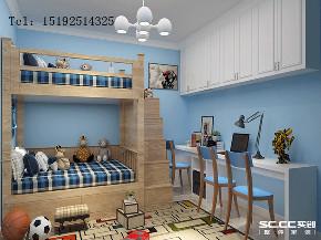 二居 简约 实创 珊瑚湾 儿童房图片来自实创装饰小彩在领秀珊瑚湾现代简约两居室99平的分享