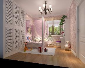 儿童房图片来自北京高度国际在龙山逸墅--350平米欧式风格的分享