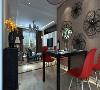 丽苑山水三室120平现代风格