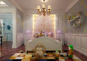 儿童房图片来自沈阳百家装饰小姜在百家装饰爱丁堡320平别墅的分享