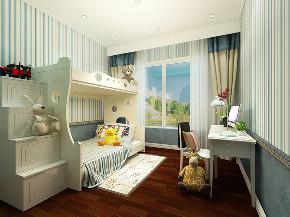 儿童房图片来自沈阳百家装饰小姜在远洋公馆400平美式风格的分享