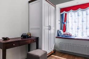 现代美式 儿童房图片来自优家馆装饰_小余在优家馆装饰:109平现代美式风的分享