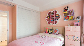儿童房图片来自家装大管家在现代层次堆叠 109平实用三口之家的分享