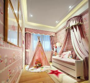 欧式 儿童房图片来自言白设计在栖语的分享