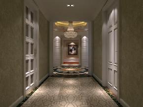 玄关图片来自北京高度国际-陈玲在金科苑法式中式装修的分享