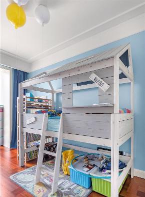 简约 三居 儿童房图片来自言白设计在沁心的分享