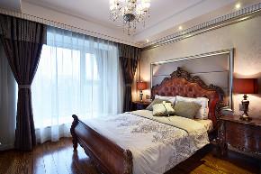 欧式 三居 大户型 复式 跃层 小资 80后 卧室图片来自高度国际姚吉智在135平米欧式三居室生活的恩典的分享