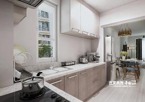 现代风格 二居 龙湖唐宁 厨房图片来自百家设计小刘在奉天九里143平现代风格装修案例的分享