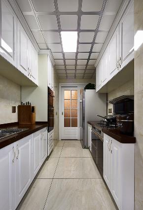 欧式 三居 大户型 复式 跃层 小资 80后 厨房图片来自高度国际姚吉智在135平米欧式三居室生活的恩典的分享