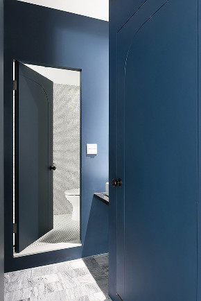 120 简约 玄关图片来自别墅设计师杨洋在二居极简风格设计的分享