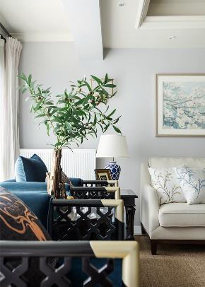 三居 中式 客厅图片来自言白设计在中式的分享
