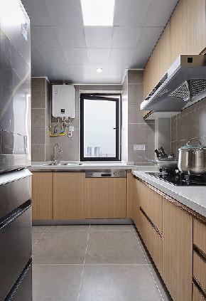 厨房图片来自家装大管家在内外通透 98平现代简约舒适3居的分享