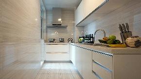 厨房图片来自家装大管家在105平现代简约风格 别有一番格调的分享