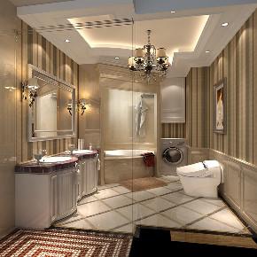卫生间图片来自北京高度国际在燕西台 --360平米欧式风格的分享