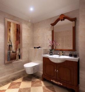 卫生间图片来自北京高度国际在金色漫香苑--190平米欧式风的分享
