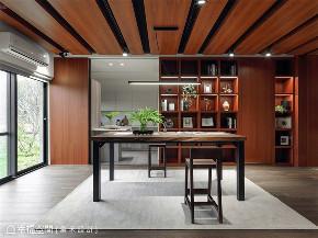 装修风格 装修设计 混搭 书房图片来自幸福空间在116平,诚品风格居家宅邸!的分享