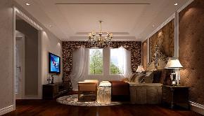 卧室图片来自北京高度国际在简约欧式--潮白河孔雀城的分享