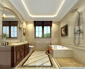 欧式 别墅 卫生间图片来自用户20000004404262在成都后花园欧式风格的分享