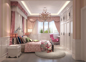 卧室图片来自北京高度国际在燕西台 --360平米欧式风格的分享
