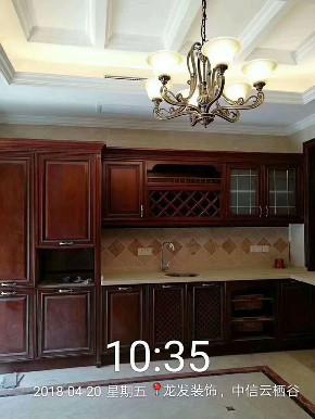 美式 别墅 厨房图片来自用户20000004404262在中信云栖谷美式风格的分享