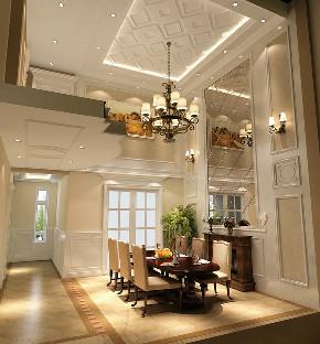 餐厅图片来自北京高度国际在燕西台 --360平米欧式风格的分享