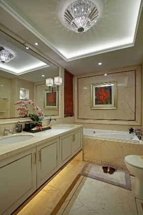 欧式 三居 大户型 复式 跃层 别墅 白领 小资 卫生间图片来自高度国际姚吉智在149平米欧式好精致的颜色搭配的分享