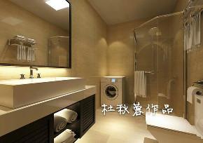 三居 金水花城 现代风格 卫生间图片来自百家设计小刘在金水花城110平现代风格全包11万的分享