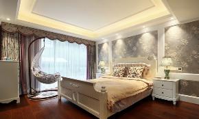 三居 卧室图片来自言白设计在中情西韵的分享