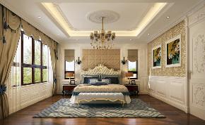 别墅 欧式 原创 室内装修 卧室图片来自北京高度国际-陈玲在金地中央世家奢华欧式风格的分享