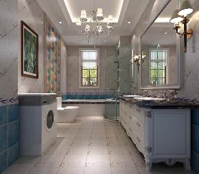 简约 欧式 别墅 收纳 卫生间图片来自北京高度国际-陈玲在龙山逸墅欧式风格案例的分享