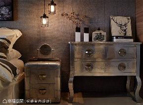 装修风格 装修进度 卧室图片来自幸福空间在102平,金属摇滚 个性工业质感的分享