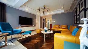 现代简约 小资 时尚 客厅图片来自成都装修找龙发在龙湖世纪峰景现代风格的分享