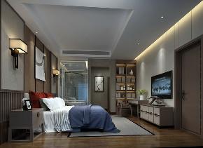中式 别墅 卧室图片来自用户20000004404262在中国会馆新中式风格的分享