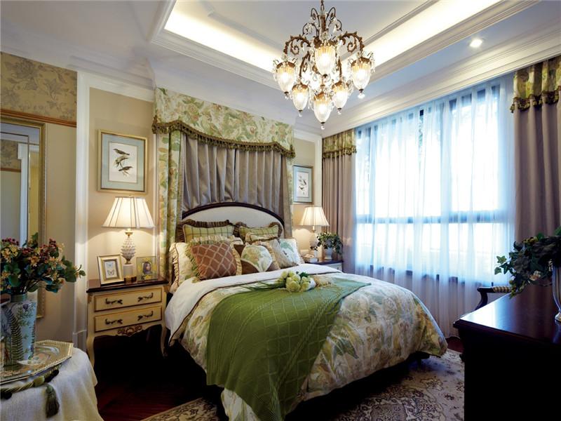 卧室图片来自北京高度国际在欧式风格的高贵与优雅的分享
